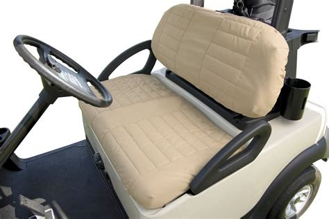 golf cart seat covers golf cart seat cover classic accessories fleece golf cart