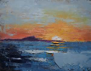 abstract landscape paintings palette knife painters abstract landscape small