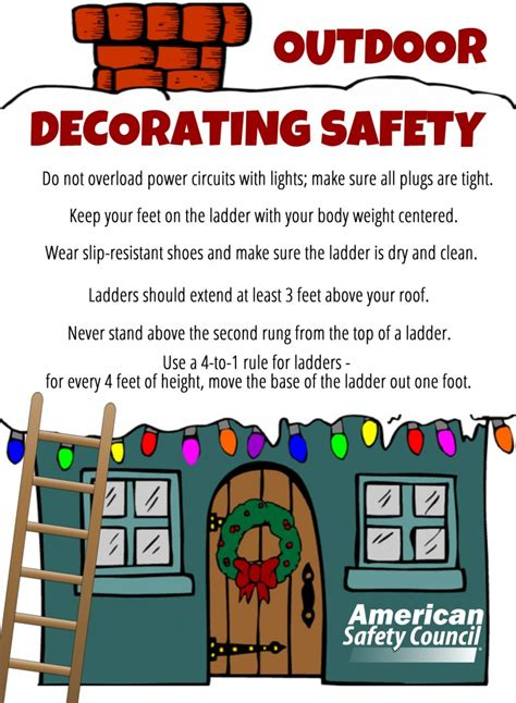 decorating safety tips outdoor decorating safety american safety