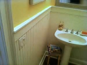 Craftsman Baseboard how to install beadboard wainscoting like a pro the