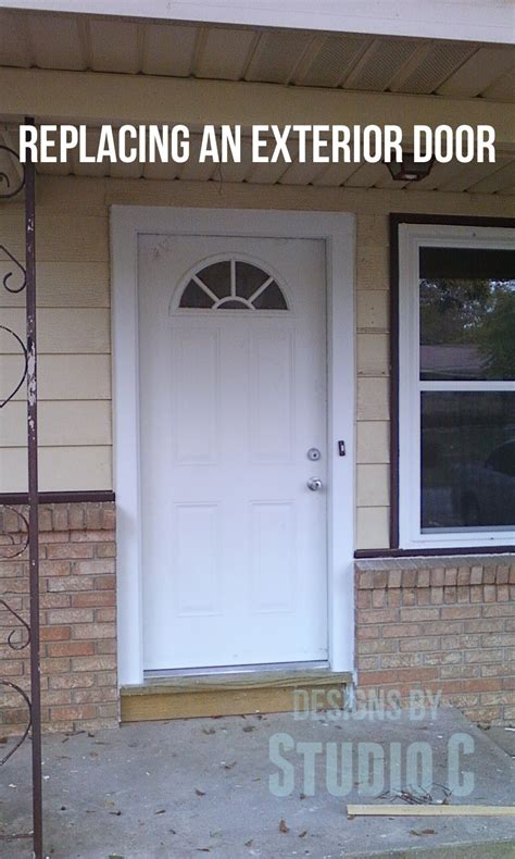 how to install an exterior door how to install exterior door