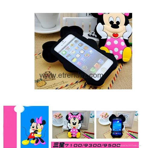 3d Plastic Samsung Galaxy S4 33 disney mickey minnie mouse phone for samsung galaxy s3 s4 s5 note 3 ip569 oem