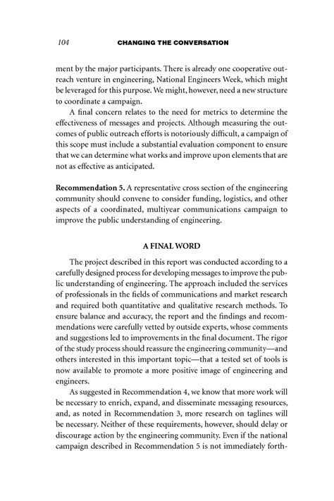 recommendation section of a report recommendation and justification report sle