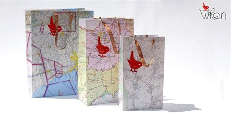 totally tutorials tutorial how to make a folded map gift bag