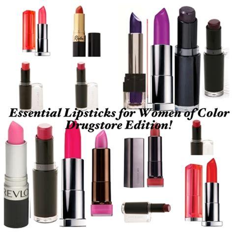 best red mac lipstick for black women 2015 30 essential lipsticks for women of color drugstore