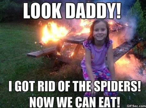 Killing Spiders Meme - kill it with fire for the husband pinterest funny