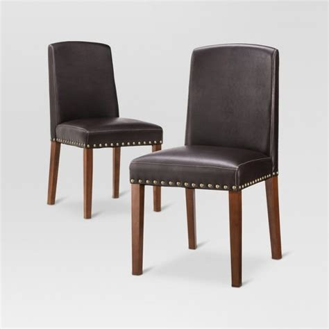 Threshold Dining Chair Lennox Dining Chair Wood Set Of 2 Threshold Target