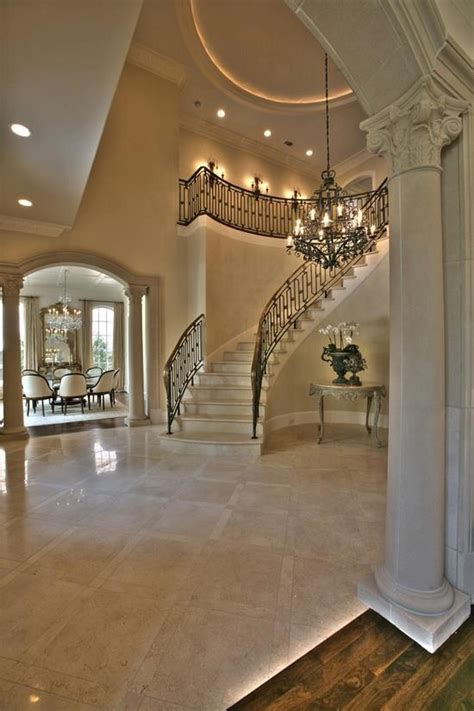 grand foyer grand entryway stunning staircases pinterest