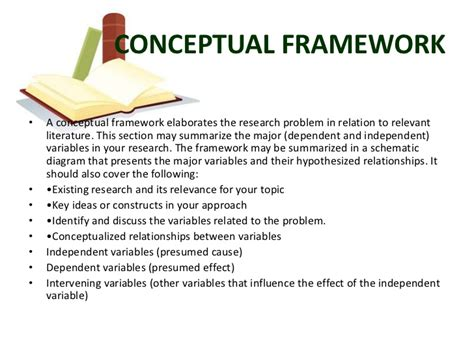 dissertation theoretical framework exles of conceptual framework in research