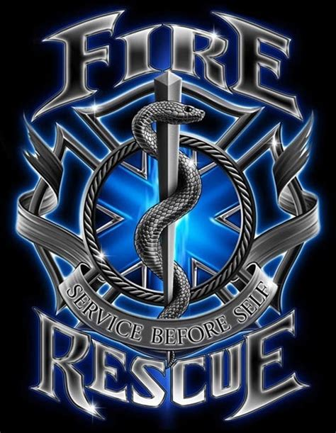 fire rescue service before self t shirt
