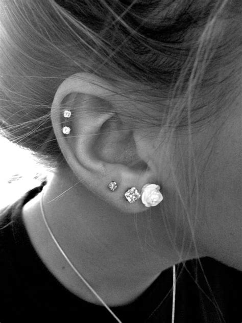 cool tragus ear piercing that will leave you stunned