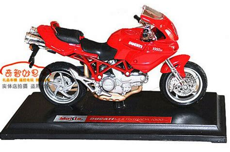 1 18 Scale Maisto Diecast Ducati 1000 Motorcycle Model