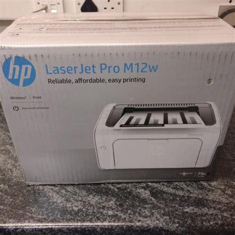 Printer Hp M12w hp laserjet pro m12w printer in tallaght dublin from bureau office supplies
