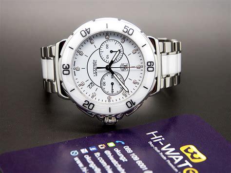 Tag Heuer Formula 1 Calibre 16 White Silver Brown Leather For tag heuer formula 1 white ceramic 12 diamonds chronograph