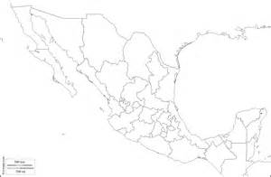 blank map of us and mexico geography mexico outline maps