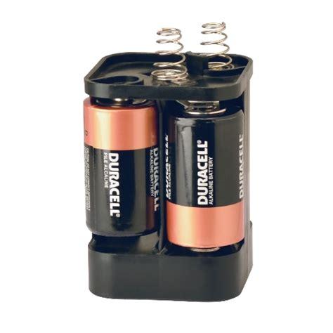 d cell four d cell battery holder