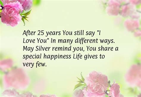 Silver Wedding Anniversary Songs Lyrics by Words Of Wisdom For 25th Wedding Anniversary 28 Images