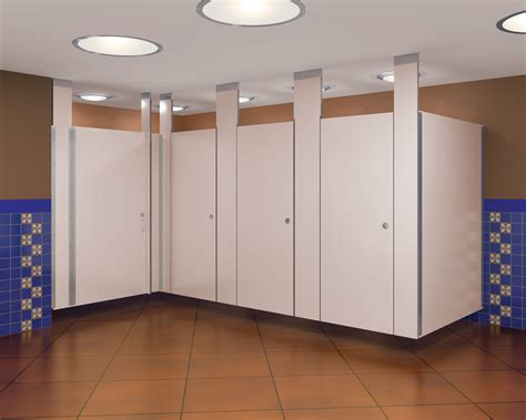Ceiling Mounted Toilet Partitions by Ceiling Mounted Phenolic Partitions Bradley Corporation