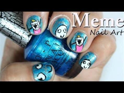 Meme Nails - dise 241 os boda de u 241 as meme nail art 1989109 weddbook
