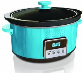 colorful crock pot 13996 dots collection programmable