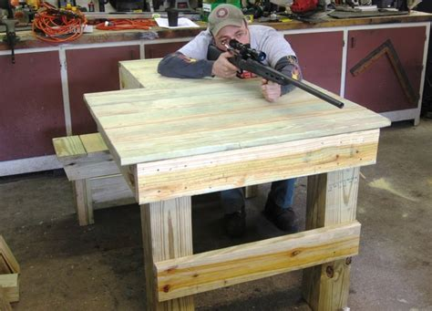 rifle shooting bench plans shooting bench plans horst pdf woodworking