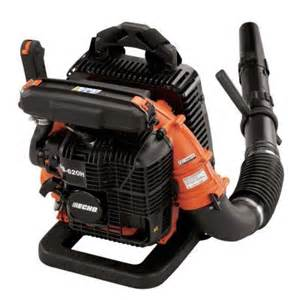 home depot gas leaf blower echo 185 mph 530 cfm gas backpack blower pb 620st the