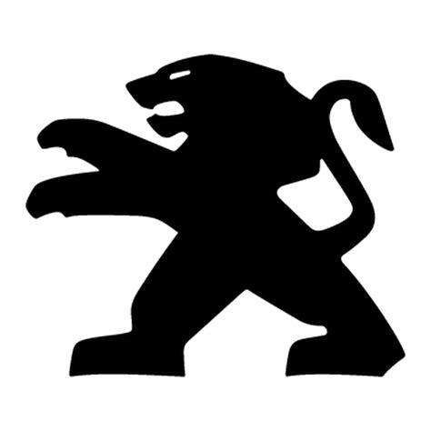 logo peugeot png sticker peugeot lion logo 2013