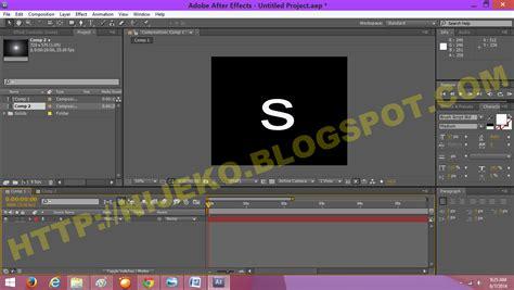 cara membuat opening video dengan adobe after effect cara membuat efek tulisan cahaya lens flare di adobe
