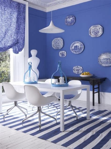 Dining Room Ideas In Blue Summer Color Lemon Yellow Navy Blue House Of Hue
