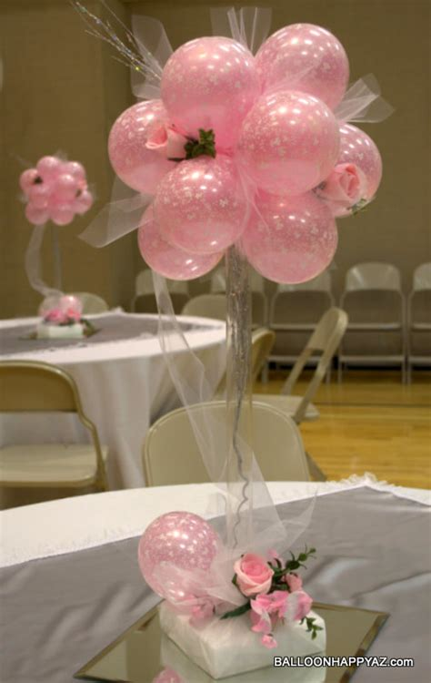 balloon centerpieces balloon centerpieces wedding on wedding balloons centerpieces and bar mitzvah