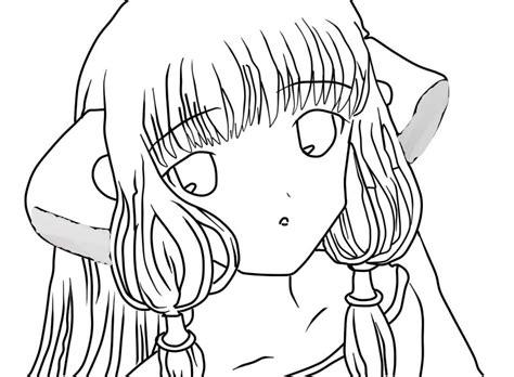 imagenes de halloween sin color chii del anime chobits sin color by anamas on deviantart