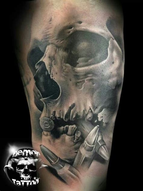tattoo pinterest skull bullets skulls and wells on pinterest