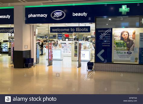 dh boots pharmacy boots retail boots shop front entrance