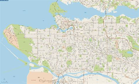 vancouver greater downtown map digital creative force