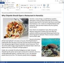 posting template word how to start blogging using microsoft word with