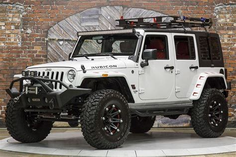 jeep rubicon white 2015 jeep wrangler unlimited rubicon white automatic black