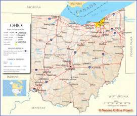 ohio to map classmates in ohio