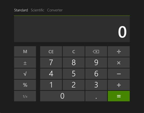 Calculator For Windows | file windows 8 1 calculator png wikimedia commons