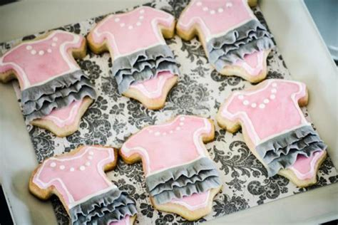 Pink And Grey Baby Shower Ideas by Kara S Ideas Pink Gray Princess Themed Baby
