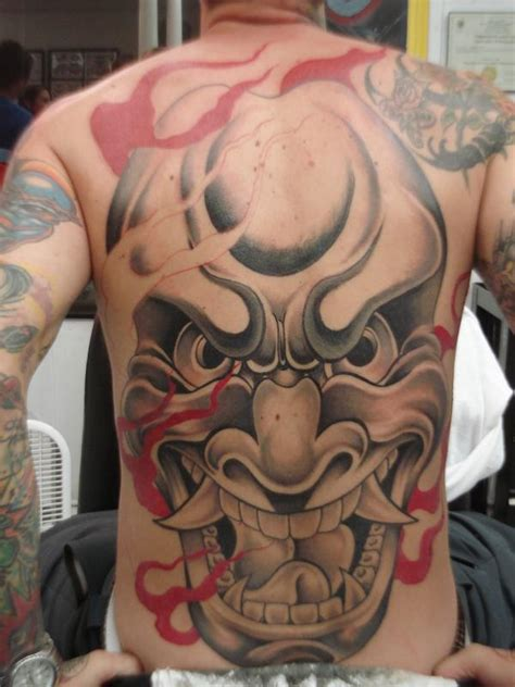 japanese oni tattoos