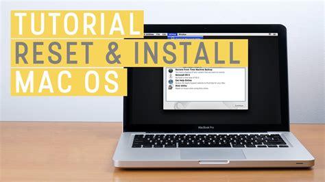 Instal Ulang Mac tutorial reset hdd ssd dan install ulang mac