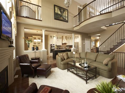 home furniture model home living room decorating