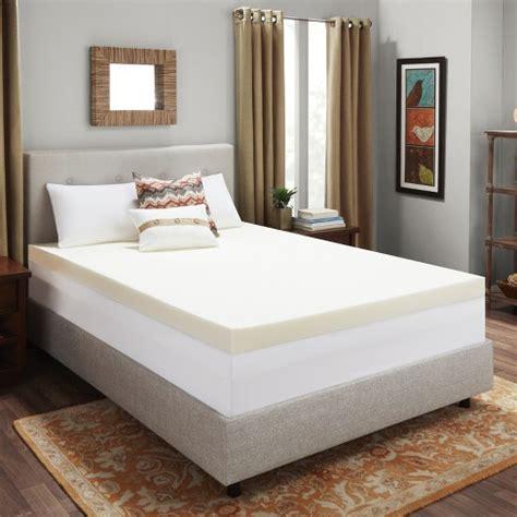 authentic comfort 3 memory foam mattress topper 4 memory foam mattress topper authentic comfort 174 target