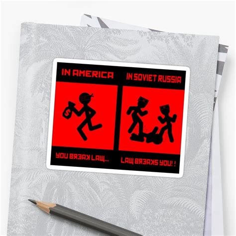 russia meme quot meme soviet russia quot stickers by tylorova redbubble
