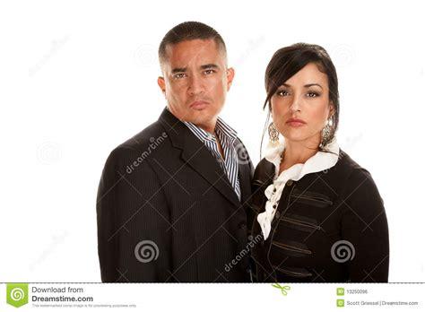 professional couple hispanic professional couple stock photo image 13250096