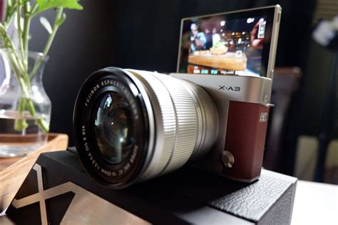 Kamera Fujifilm Xa10 fujifilm perkenalkan kamera mirrorless terbaru fujifilm x a3 telset