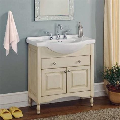 narrow bathroom vanities a simple solution for a small