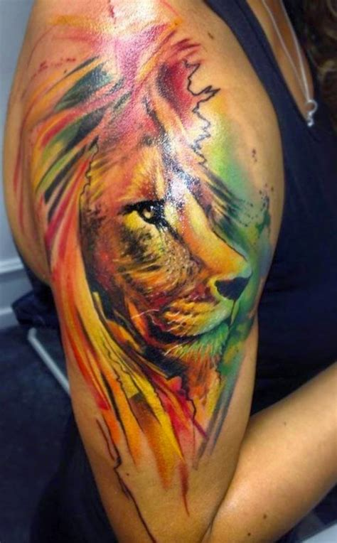 tattoos lion