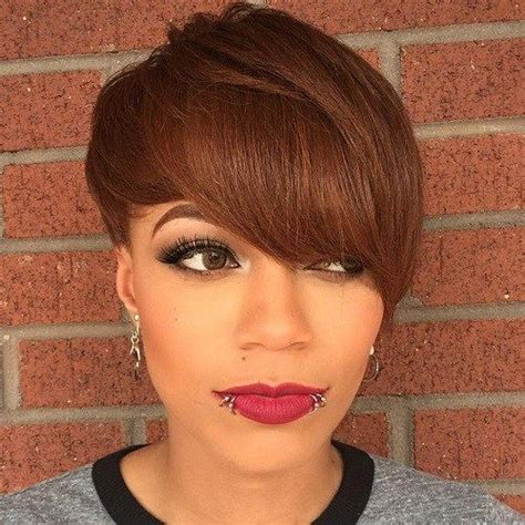 pictures of african american brown hair 17 best ideas about short brown haircuts on pinterest