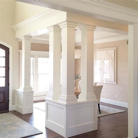 dining room columns 25 best ideas about columns on pinterest front porch